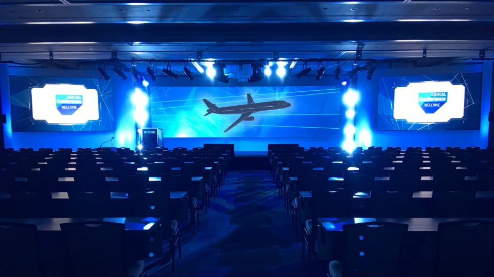 CEAVO Audio Visual aviation industry event