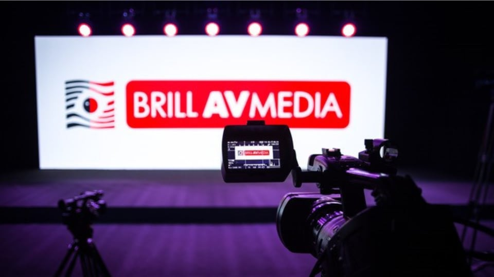 Brill AV Media live stream studio