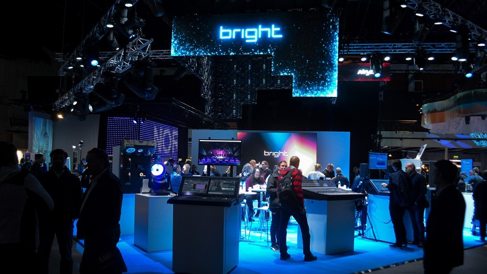 Bright Group exhibition booth