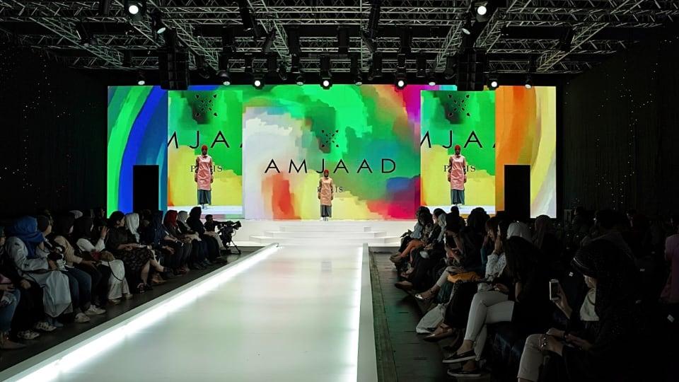 Cantuman Wawasan fashion show