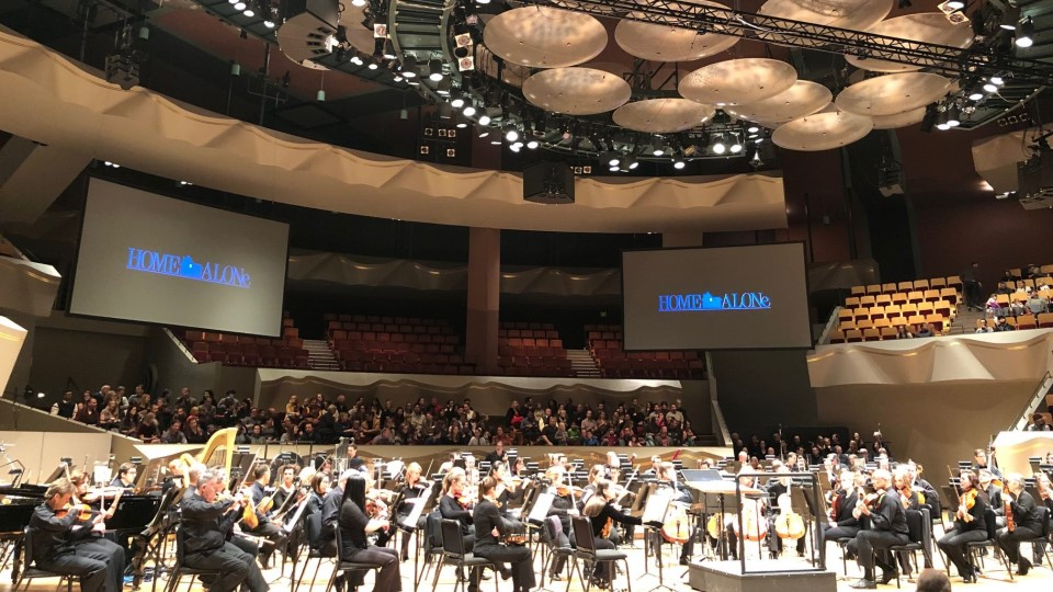CEAVCO Audio Visual Home Alone soundtrack concert