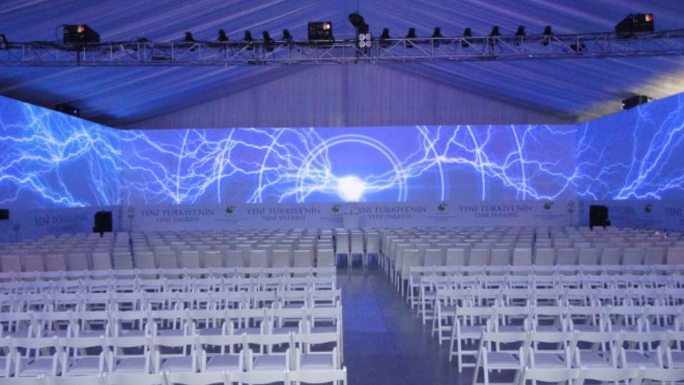 Consys live event setup