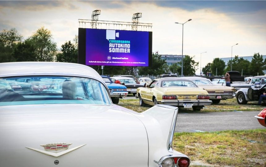 Autokino Sommer drive-in cinema by sld mediatechnik GmbH