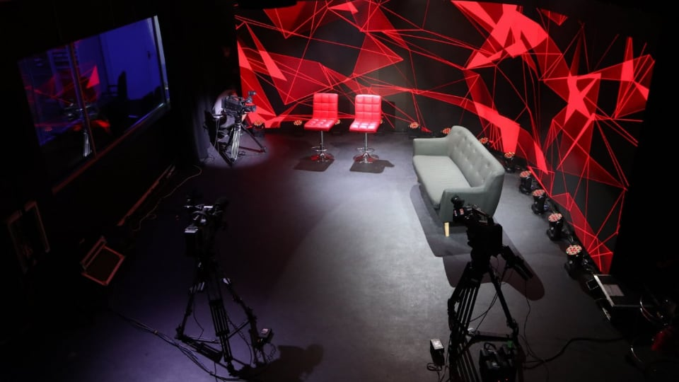 Gearhouse South Africa / LED Vision live streaming studio