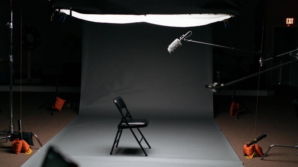 Minimal studio setup