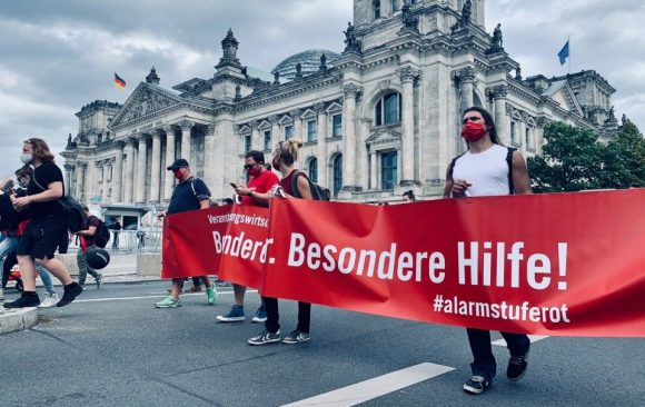 Alarmstufe Rot demonstration in Berlin