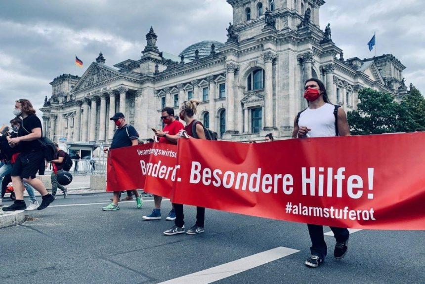 Alarmstufe Rot demonstration in Berlin
