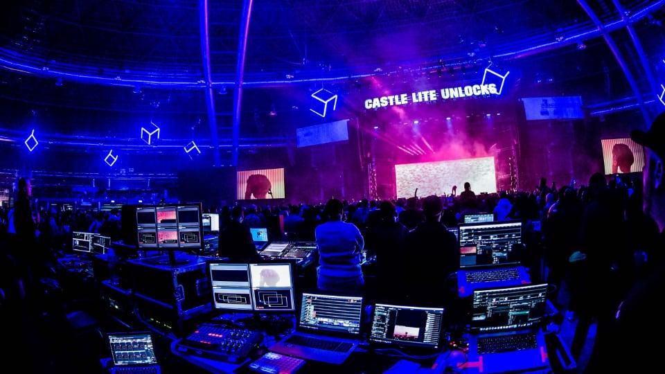 Gearhouse Castle Lite Unlocks concert