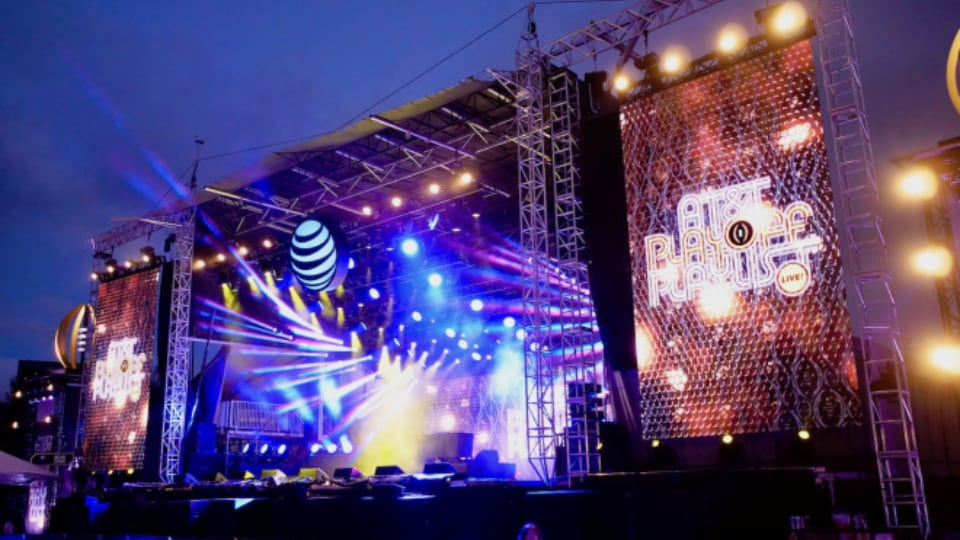 College Football Playoff's AT&T Playoff Playlist Live!