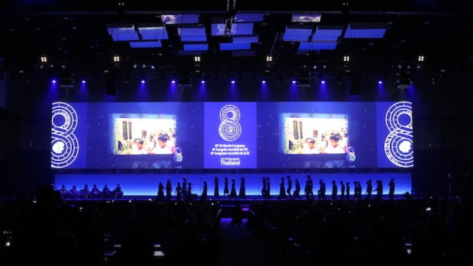 Education International World Congress 2019 in Thailand by Creative Rock