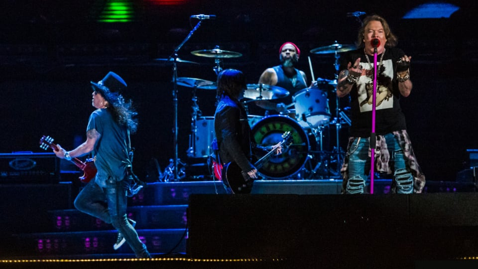 Gearhouse Guns N' Roses - Not In This Lifetime Tour