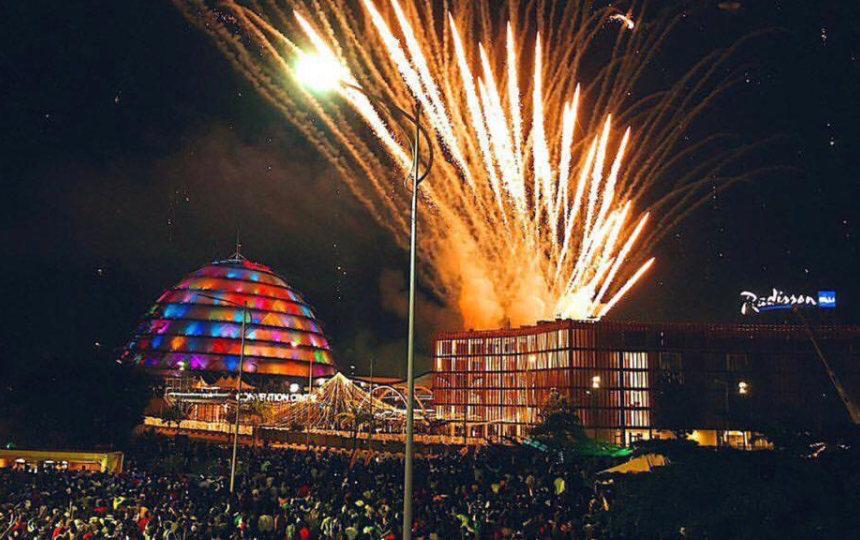 Kigali New Year Countdown 2018 (Photo source- Cedric Kagimbanyi) by Rwanda Events Group