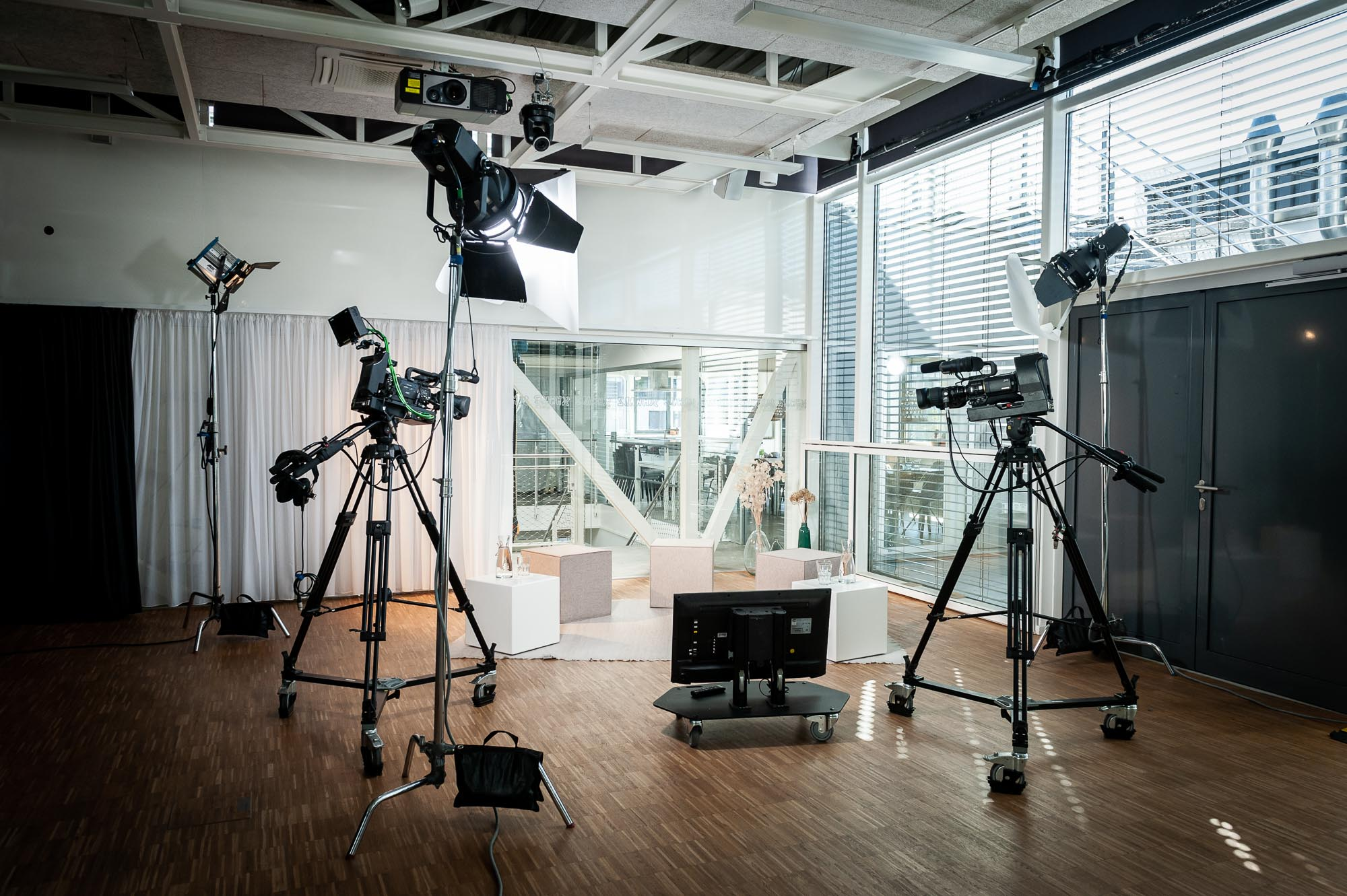 Limelight Veranstaltungstechnik live streaming studio Corvatsch