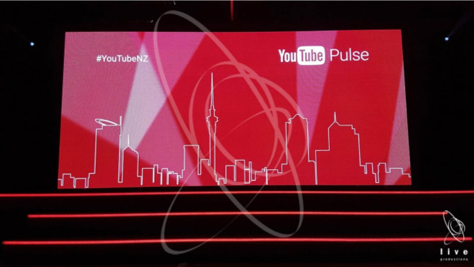 Live Productions YouTube Pulse event