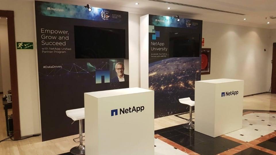 Net App EMEA Meeting by Visionarea