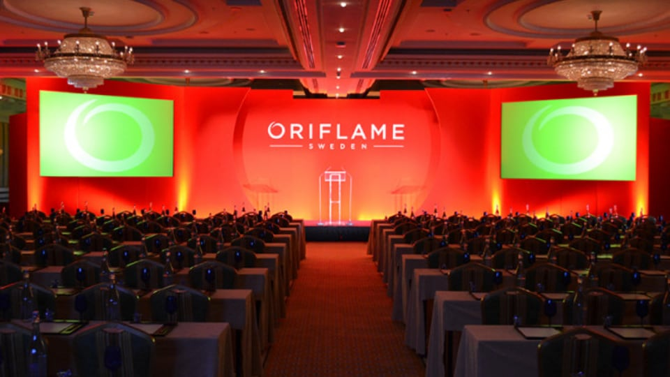 Oriflame conference by Pearl Group