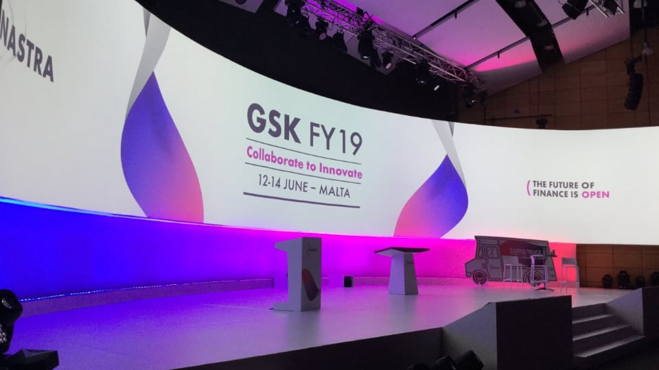 GSK FY19 financial conference in Malta by Powerhouse