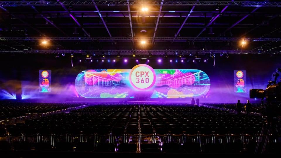 SEG conference setup