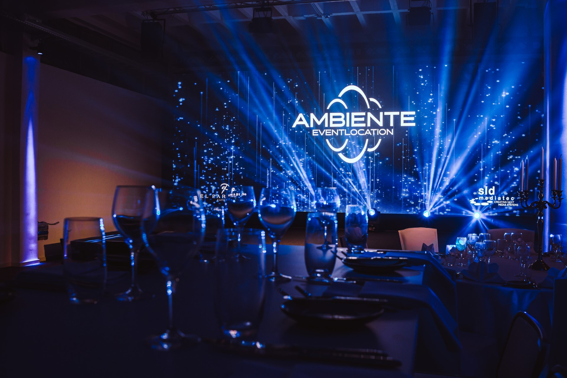 sld mediatec GmbH Ambiente event locations virtual studio