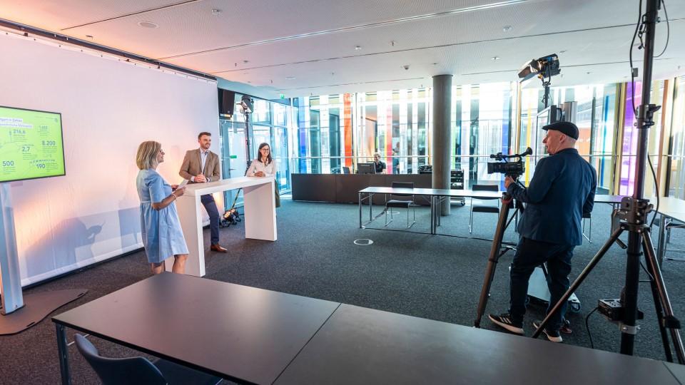 Neumann&Mueller virtual studio ICS Stuttgart