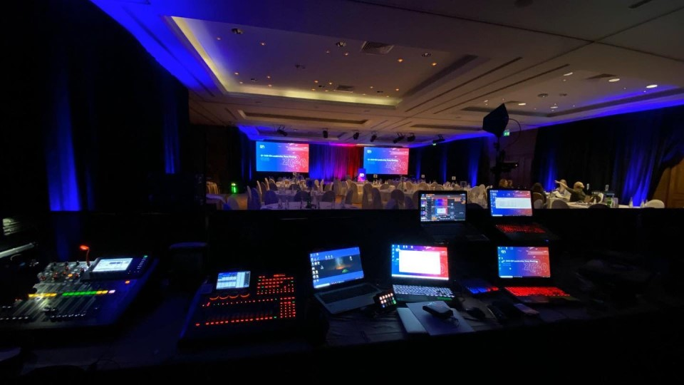 Crossview Audiovisuais live event