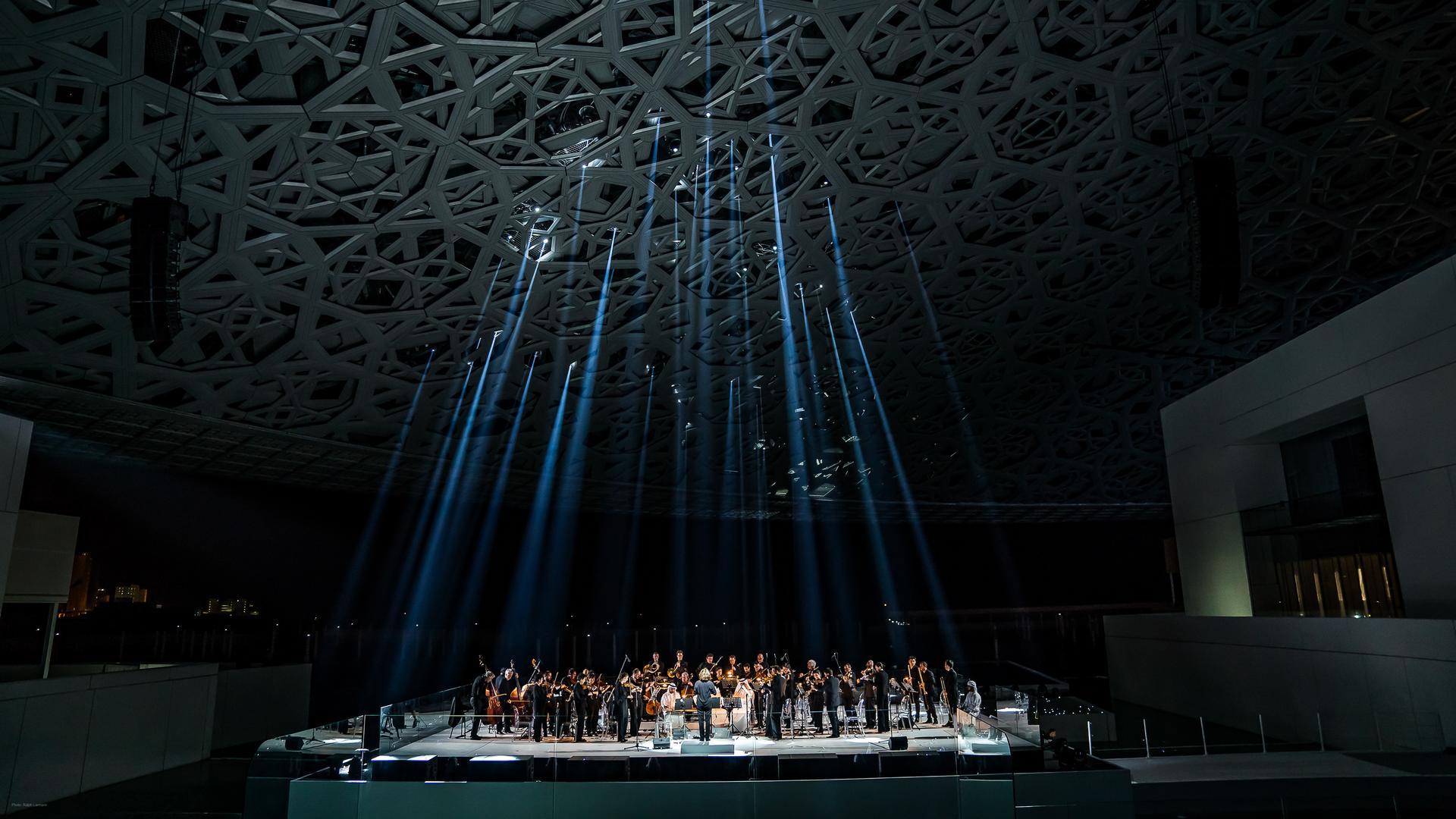 Neumann&Müller Event Technology LLC - The Louvre Abu Dhabi Opening - Photo by Ralph Larmann