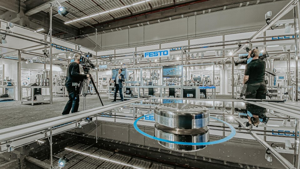 Neumann&Mueller virtual exhibition for Festo