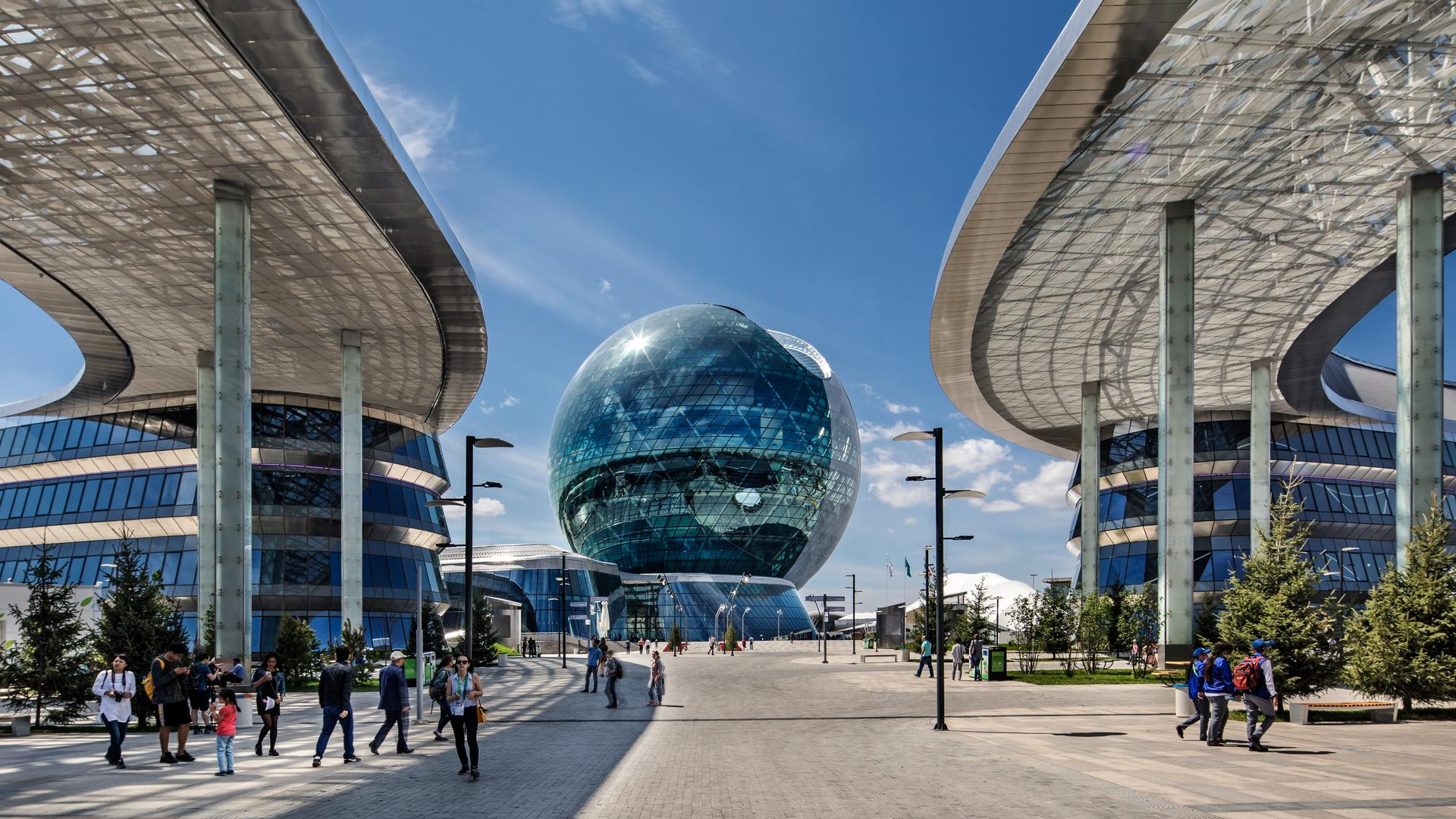 "Neumann&Müller Event Technology LLC - ""The Sphere"" at Expo 2017, Kazakhstan"