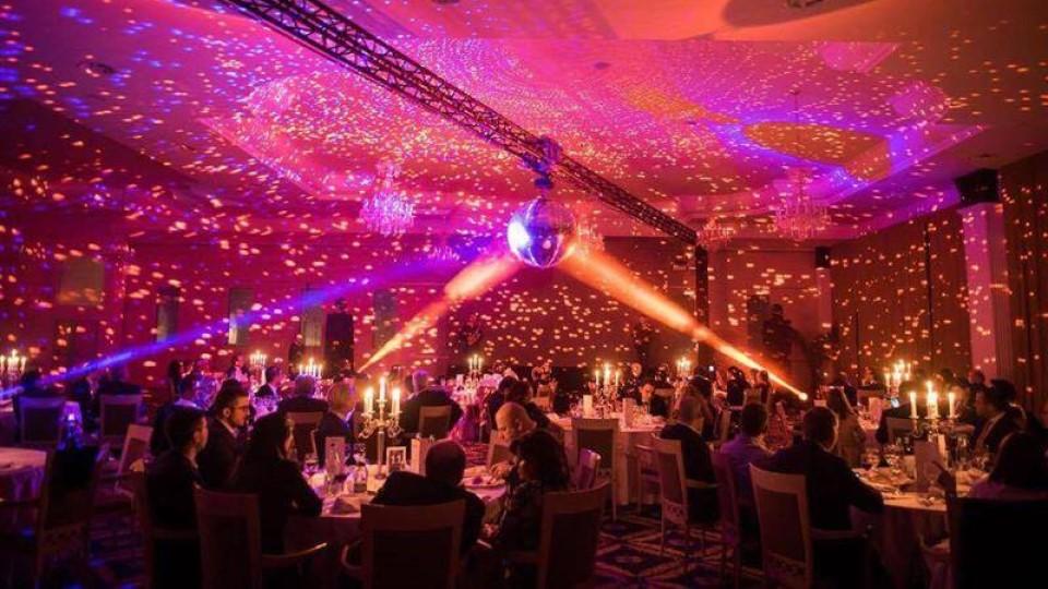 Five's International gala dinner