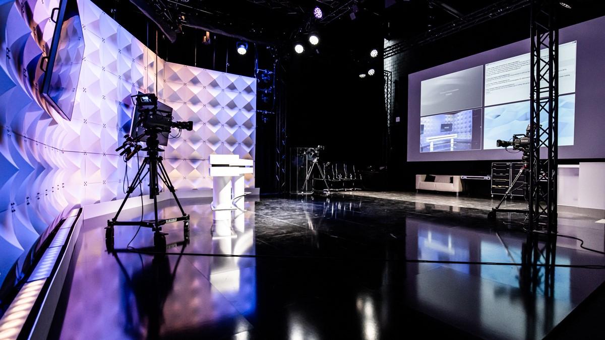 Habegger AG virtual live stream studio