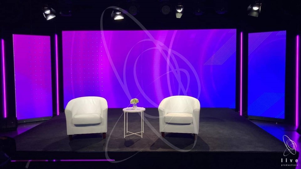 Live Productions live streaming studio in Sydney