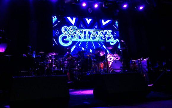 Santana concert by VCI Event Technology