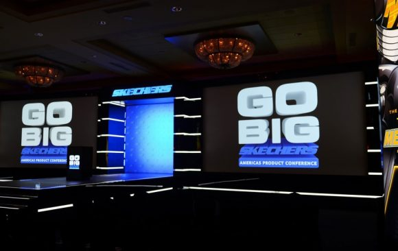 Skechers event by VCI Event Technology