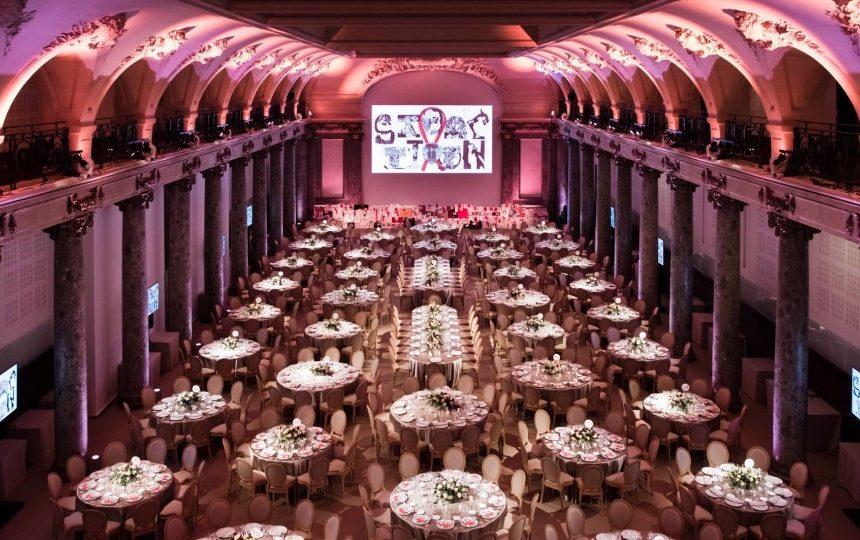 Videlio Events gala dinner setup