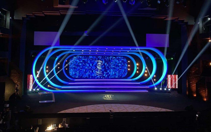 Videlio Events stage setup