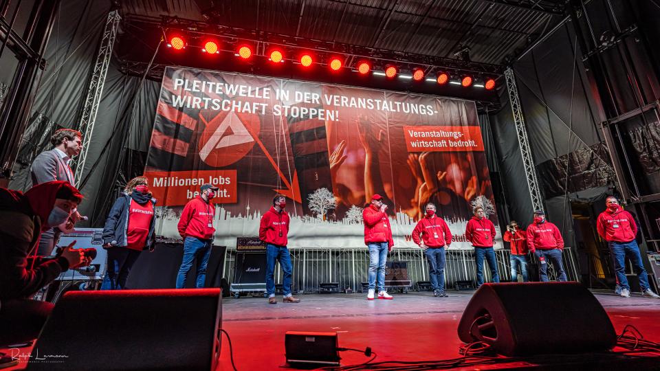 Alarmstufe Rot demonstration in Berlin on September 9, 2020, photo by Ralph Larmann