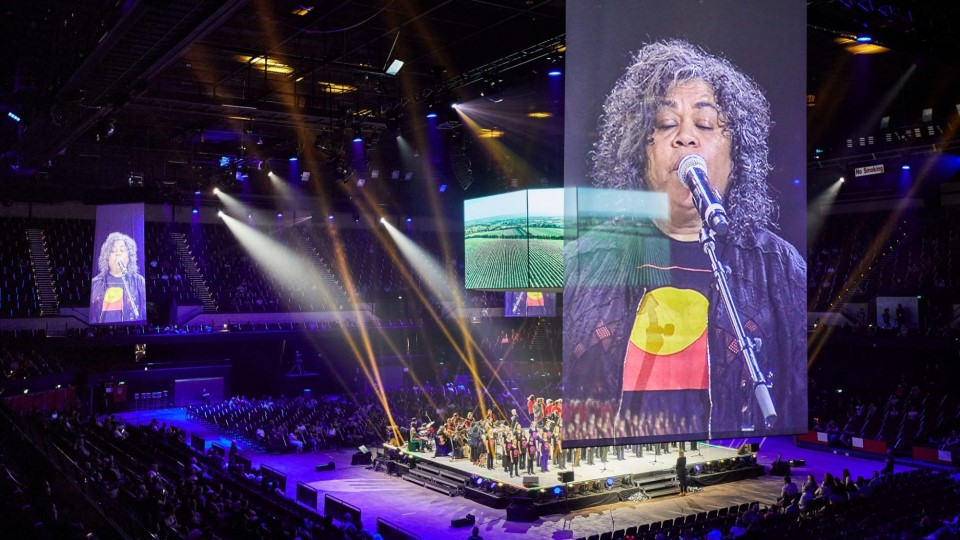 Australia Day - AUS DAY IN THE ARENA by Novatech - photo by David Solm