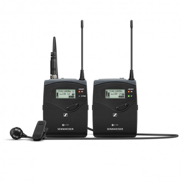 Sennheiser EW122P W6 wireless omni-directional lavalier microphone and transmitter