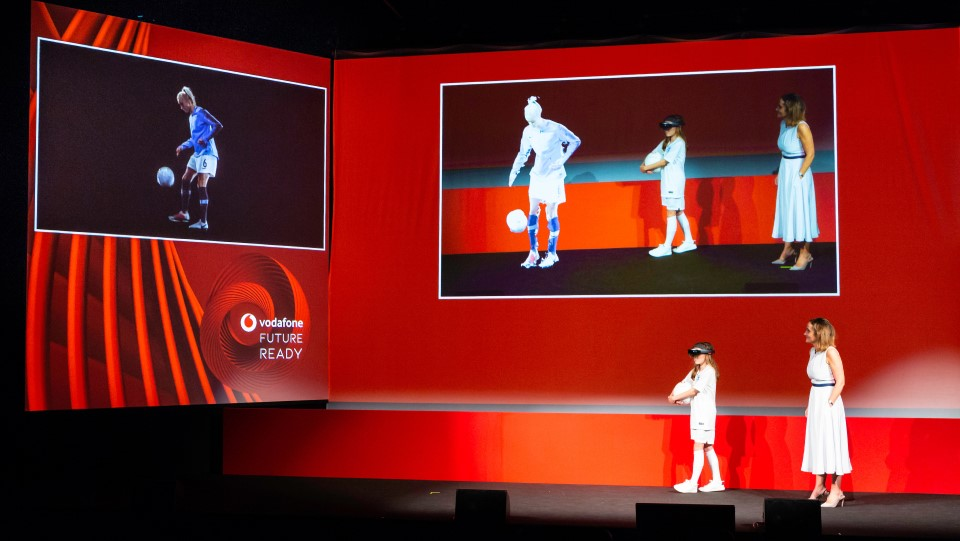 Vodafone event by PSP