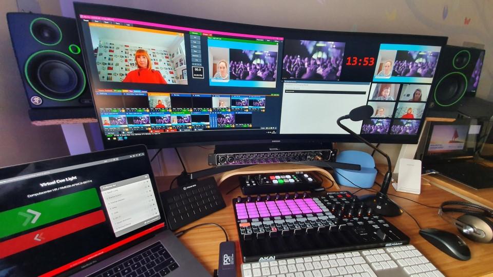 PSP Streaming Studio in Birmingham